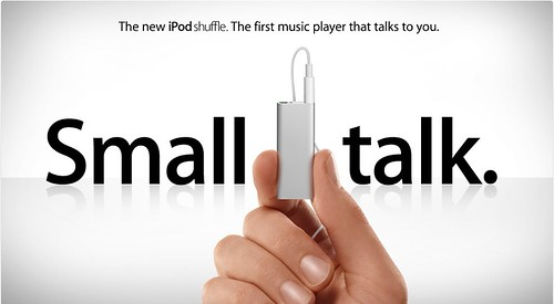 New iPod Shuffle VoiceOVer