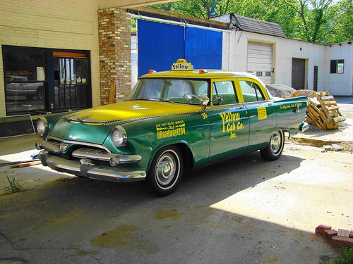 1956 Dodge Coronet Yellow Cab