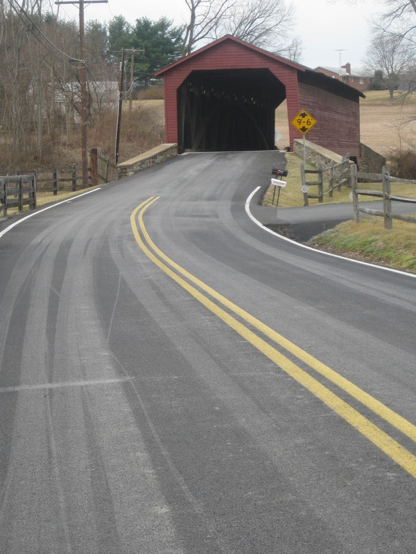 The Utica Covered Bridge
