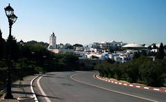 Sidi Bou Said (Paul 'Tuna' Turner) Tags: africa travel holiday canon mediterranean village northafrica tunisia tunis sidibousaid arabian tunisie canoneos400d