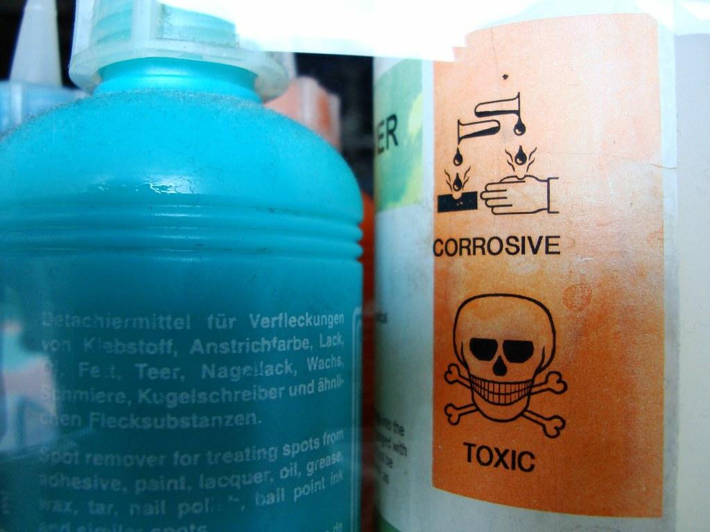 corrosive toxic