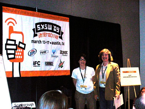 SXSWi 2009: Blog Highways: Travel Blogging for the Wanderer by LauraMoncur from Flickr