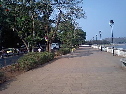 Sidewalk in-Panaji