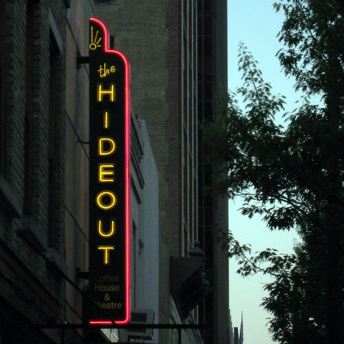 Hideout Theater on Congress Ave