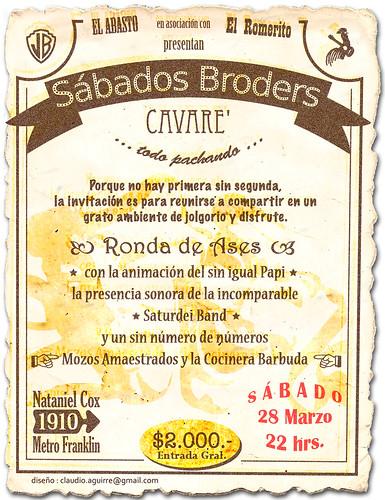 sábados broders cavare' II