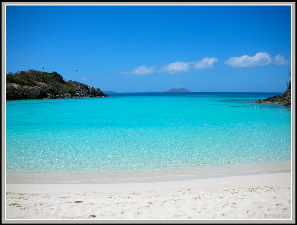 Life Is A Beach. Tortola, British Virgin Islands - IMRAN™