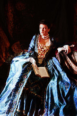 A pleasant journey in the past (eftimov-schenk-schwartz) Tags: portrait history lady costume xviiicentury historicalcostume louisxv 25faves abigfave nikolaeftimov