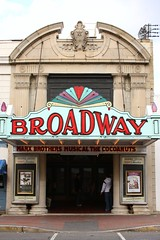 Broadway Theatre (Harpo42) Tags: beauty sign architecture movie marquee newjersey antique broadway nj historic restored southjersey vaudeville broadwaytheatre pitman marxbrothers gloucestercounty