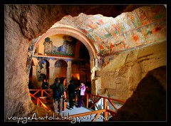 Looking Inside Cave Church of Cappadocia (voyageAnatolia.blogspot.com) Tags: trip travel vacation holiday history church archaeology look rock wall plane turkey painting religious photography early photo mural arch looking view cross cut trkiye turkiye paintings ceiling christian turquie trkei silkroad inside cave christianity eastern orthodox archeology fresco section christians turquia byzantine feature cappadocia crosssection turqua tyrkiet turchia kapadokya frescos frescoes  arched   turska  afsad fotogezi   voyageanatolia
