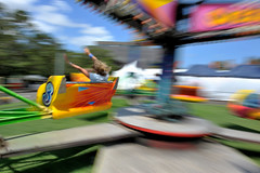 Follow Through (DoF Punk) Tags: speed ride gforce carney themepark sydneyuniversity oweek sizzler nauseous capturenx d700 2470mmf28g