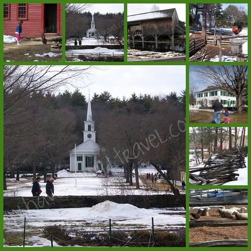 Old Sturbridge Village collage