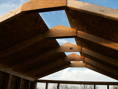 Hmmm - Can you say SUN ROOF ? (M.Barkley) Tags: portablehouse tinyhouse minihouse microhouse