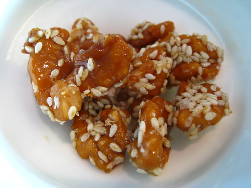 Candied Cashews - Jing