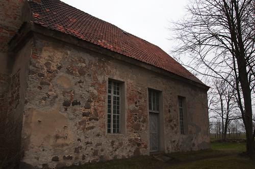 Kirche Ruhlsdorf Eingang