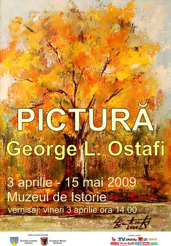 03 Aprilie 2009 - 15 Mai 2009 » Pictură de George L. OSTAFI