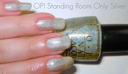 OPI Standing Room Only Silver