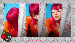 My New Pink Hair (Cherry Bomb 81) Tags: pink blue portrait orange selfportrait cortina hairdye make up fashion azul shirt self hair cherry eyes retrato background blueeyes curtain laranja autoretrato expressions makeup rosa style tshirt olhos maquiagem lips piercing monroe estilo olho dye bomb pinkhair facial pinup cereja cerejas pendant cabelo cherrybomb camisa lbios dyedhair orangeshirt azuis blusa pingente expresses faciais bluebackground facialexpressions orangetshirt maquilagem fashionstyle monroepiercing olhoazul pinupstyle cabelorosa fundoazul cherrypendant expressesfaciais blusalaranja lipspiercing pingentedecereja