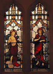 Baptist window, Aberdare (robin.croft) Tags: wales jesus victorian stainedglass baptism rct johnthebaptist riverjordan rhonddacynontaff aberdare