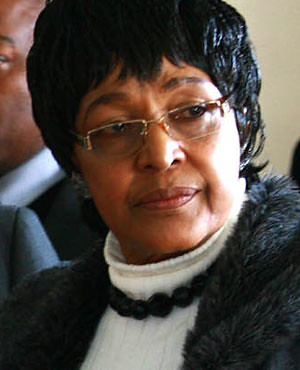 Winnie Mandela was cited in the recent release of WikiLeaks documents where U.S. intelligence sought to access Mandela through her since the ANC was refusing to meet with the American embassy in Pretoria in 1990 after Nelson Mandela's release from prison. by Pan-African News Wire File Photos