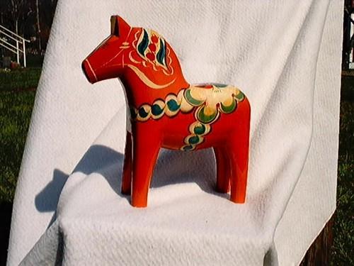 Dalahäst / Dalecarlia horse