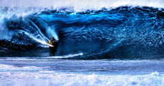 Epic Surfer (Surrealize) Tags: ocean hawaii nikon surf break pacific oahu action surfer board pipe barrel wave surfing spray northshore shorts grab reef swell pipeline hdr banzai pupukea d300 ehukaibeachpark 600mm 15foot surrealize