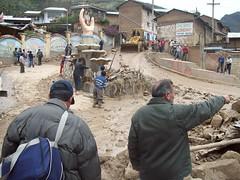 Huaico en Cerro de Pasco
