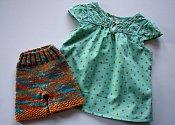 Citrus Squeeze Set - shorties & dress - small