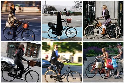 Euro city bikes