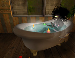 ~ I'm Feeling Better Now! ~ (MiaSnow) Tags: happy bath well sl relief secondlife accomplishment feat goodday betternow miasnow rlyay