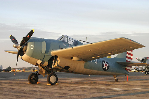 Warbird picture - F4F-3 Wildcat