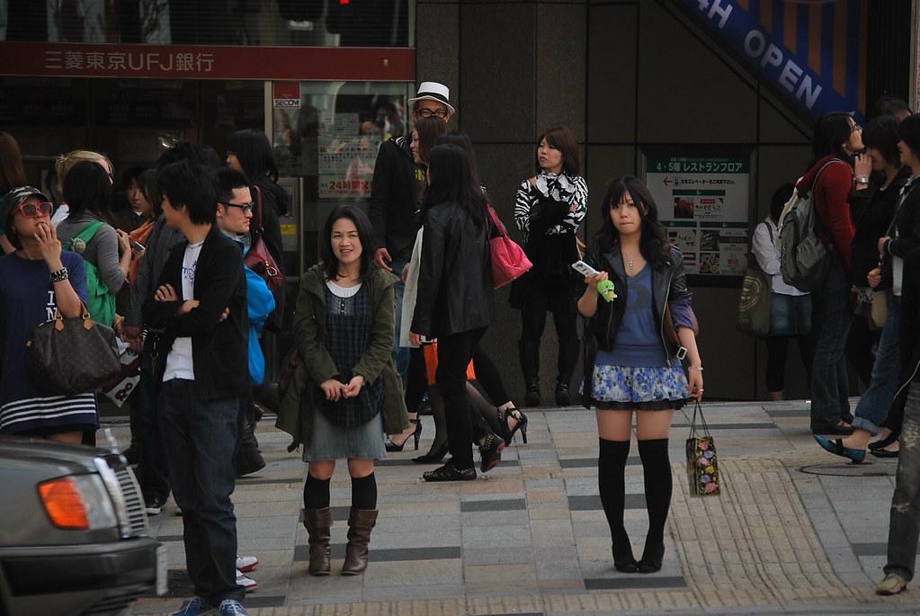 A la caza de la moda en Harajuku
