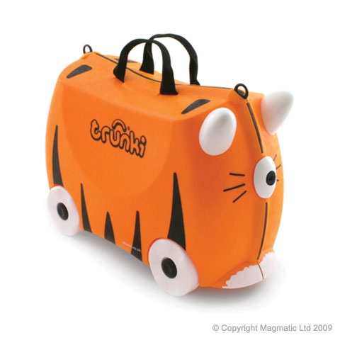 Complementos para niños, maleta Trunki