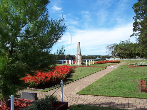 Woy Woy Memorial Park 24th April 2009