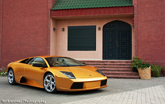 Golden Murcielago (Mishari Al-Reshaid Photography) Tags: auto reflection cars car sport speed photoshop canon reflections gold golden italian automobile power low fast exotic kuwait canondslr powerful lamborghini canoneos photoshopcs2 sportscar q8 murcielago carphotos v12 24105 canonef24105f4l gtm carphoto canoncamera canonphotos canoneflens imagestabilizer 24105mm q80 canonllens 40d mishari canonef24105f4lis kuwaitphoto kuwaitphotos 580exii canoneos40d canon40d kuwaitcars kvwc kuwaitartphoto gtmq8 kuwaitart kuwaitvoluntaryworkcenter kuwaitvwc goldlamborghini canon580exiiflash kuwaitphotography grendizer99photos misharialreshaid malreshaid goldenmurcielago misharyalrasheed