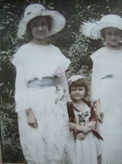 Grand Ma Weird Family as a Young Child