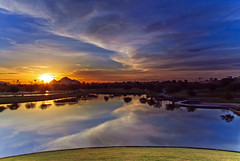 Sunrise Over Camel's Head (jimhankey) Tags: park morning winter red arizona sky orange cloud sun mountain mountains phoenix beautiful weather yellow skyline clouds sunrise landscape gold morninglight spring desert cloudy scenic parks naturallight sunny valley copper vista orangesky glowing redsky dramaticsky 2009 beautifulclouds beautifulview sunray desertview daybreak phoenixarizona arizonawinter beautifulscenery phoenixaz scenicview desertmountain maricopacounty goldensky nikond200 phoenixskyline unusuallight glowingcloud indianschoolpark dearflickrfriend uptownphoenix goldenmorning jimhankey arizonaspring arizonaweather phoenixweather phoenixariz