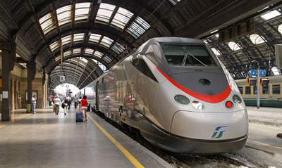 Italian high speed train
