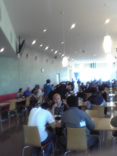 Toho Studios cafetaria