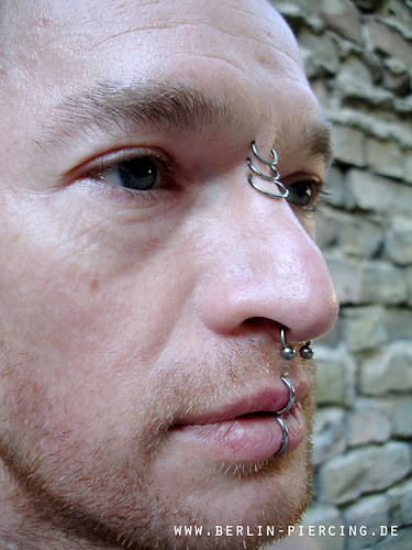 Piercing berlin by byxe 39 s most interesting flickr photos - Lippenpiercing ring ...