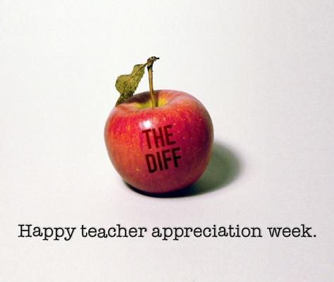 Quicken Loans DIFF blog says thanks during Teacher Appreciation Week!