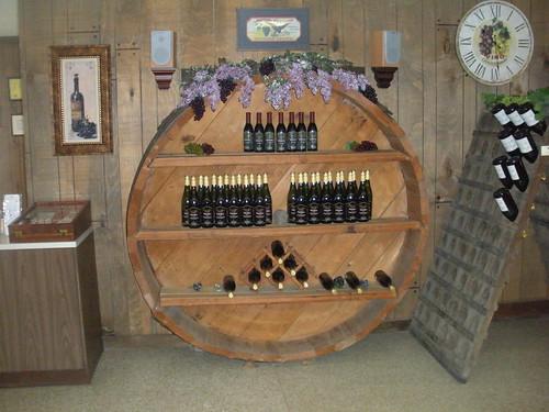 Penn Shore barrel display