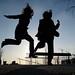 Hafencity Jump Eva&Michi