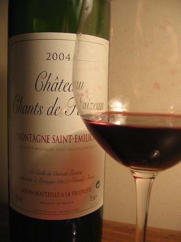 2004 Château Chants de Faizeau