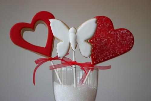 Wedding Favour Cookie Pops
