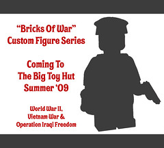 Bricks Of War Promo (miniBIGS) Tags: 2 lego iraq wwii vietnam ii figure minifig custom worldwar desertstorm minifigure brickarms brickforge babyjawa