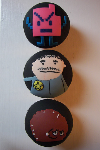 Sheriff, Meatwad and Err Cupcakes