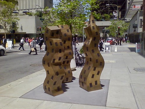 Wiggly Building Sculpture