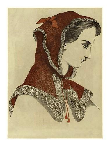 017- Capucha española para la opera 1863