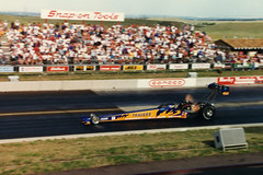 Blaine Johnson (twm1340) Tags: blainejohnson travers tool topfuel nhra denver colorado co bandimere speedway morrison dragster milehigh nationals race drag racing racer 1996