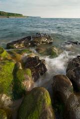 Rocky Shoreline, Parton (Nick Landells) Tags: uk sea seaweed coast rocks surf shoreline tokina coastal shore cumbria coastline whitehaven 1224mm parton stbeeshead polariser westcumbria d80 landscapesshotinportraitformat leecpl